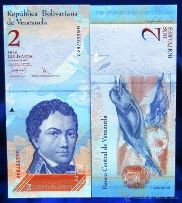 Venezuela 2 Bolivarios