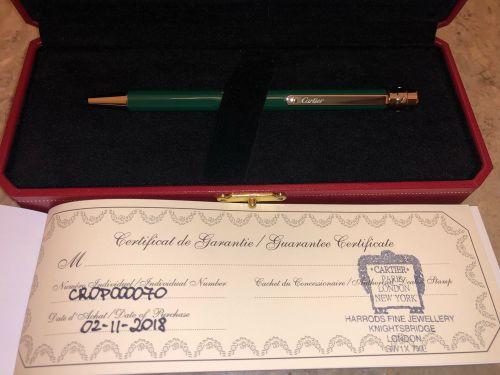 قلم كارتير الاصدار الاخضر