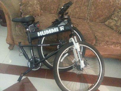 دراجة  هامر قابلة للطي
