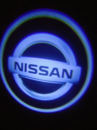 2 لوجو شعار NESSAN حق باب الموتر