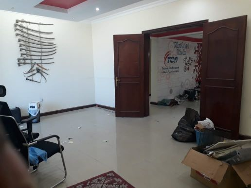 4 Office rooms with Reception for rent