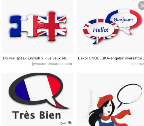 French and English teaching
