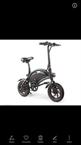 دراجه هوائية على كهرباء