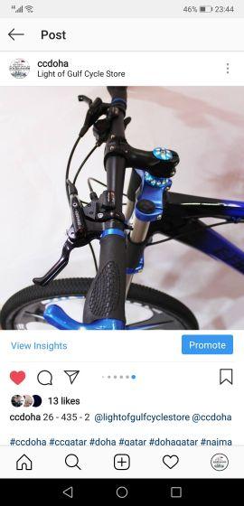 دراجة دبل جمبين جديدة