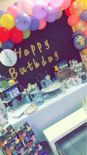 أعياد ميلاد وحفلات