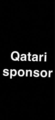 Qatari sponsor