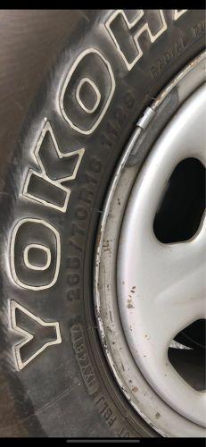 Used Tyer 256/70/R16