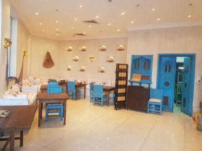 مطعم بديكورات رائعه بأم صلال محمد للبيع