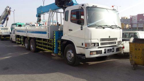 Mitsubishi boom truck