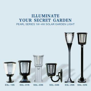 اضاءات منزلية بالطاقة الشمسية
