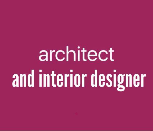 مهندسه معماريه و مصممه ديكور