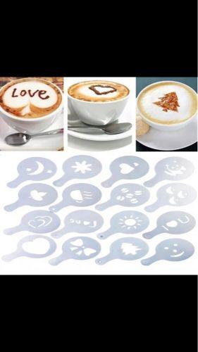 Coffee art template