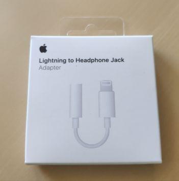 Lighting to Headphone Jack/Adaptor