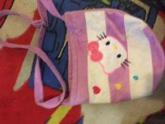 حقيبة للاطفال على شكل هيلو كيتي