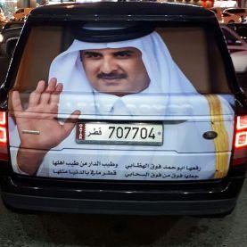 تركيب استيكرات قطر ستبقى حرةٌ*