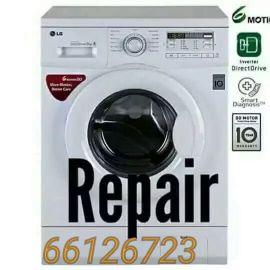 washing machine repair and a/c sale plea