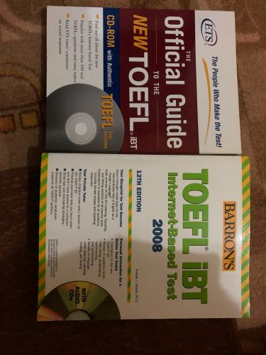 Toefl ibt books