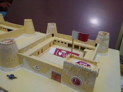 مجسم قلعة الزبارة