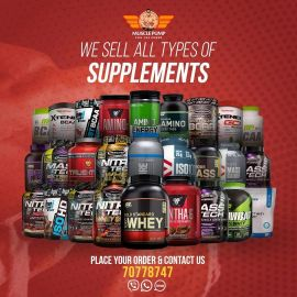 Selling all kind of Supplements