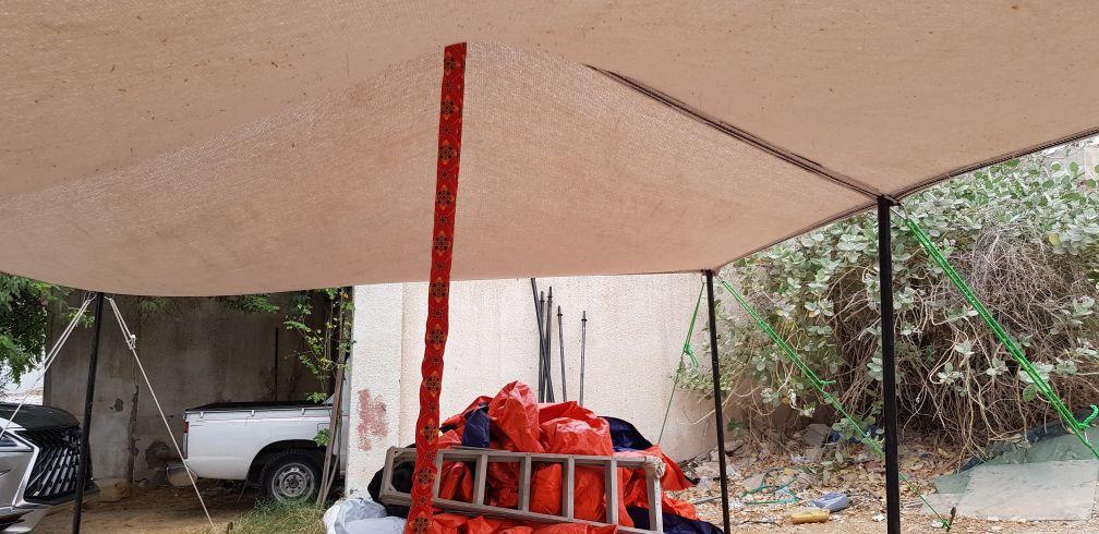 مظلات قطن وشبك تور استرالي