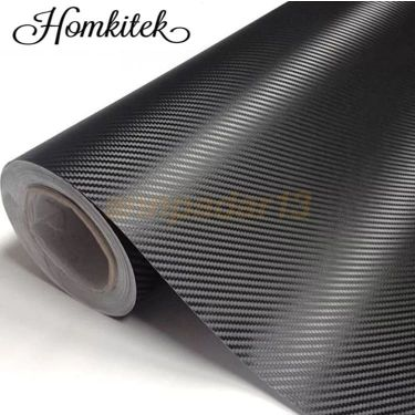 Carbon Fiber 5D vinyl sticker