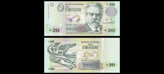 Uruguay 20 Peso