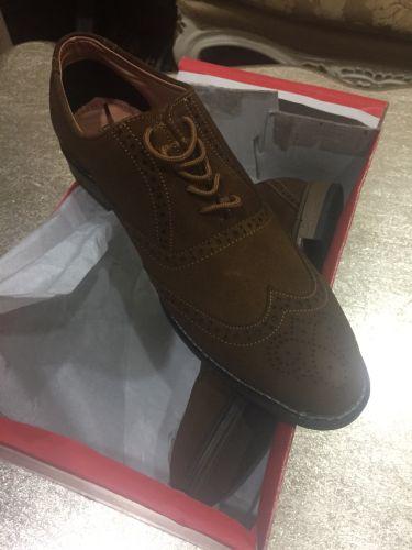 حذاء شامواه رجالي
