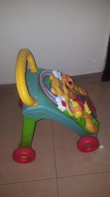 مشاية أطفال +لعبة بالموسيقى
