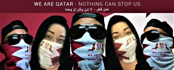 Qatar Bandanna Masks
