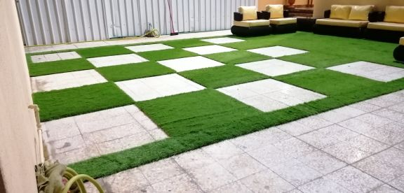 العشب اسلوب جديد