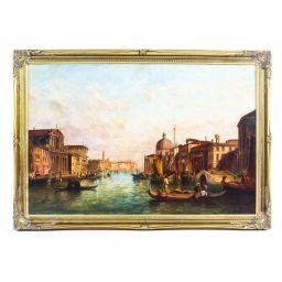 لوحة القنال الكبير، فينيسيا (إيطاليا)