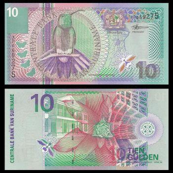 Suriname 10 Gulden