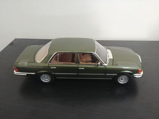 1:18 1976 Mb 450SEL model car