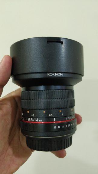 Rokinon - 14mm F2.8 (Canon mount)