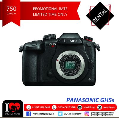 Panasonic GH5s available for rental!