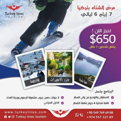 شركة تركيا لاينز للسياحة والخدمات