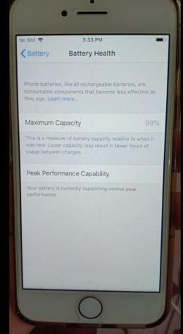 I Phone 8 64GB golden rose