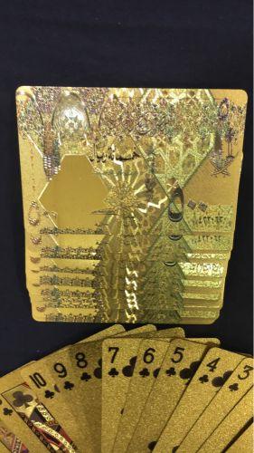 ورق لعب ذهبي شعار 500 ريال