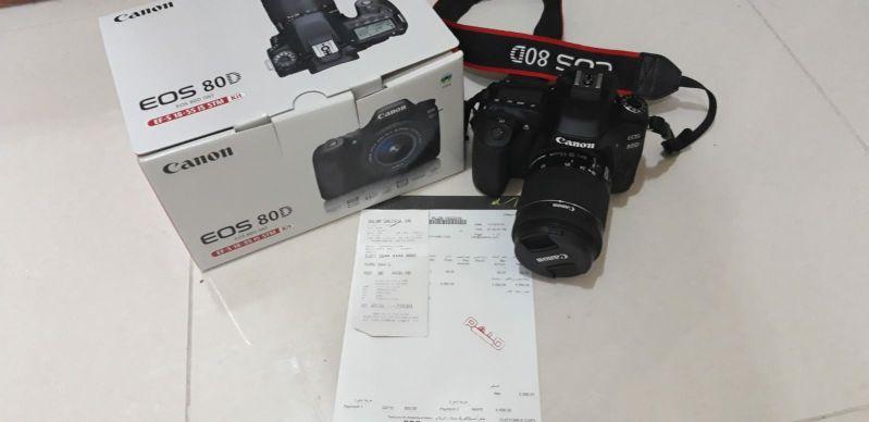 كاميرا canon 80 d