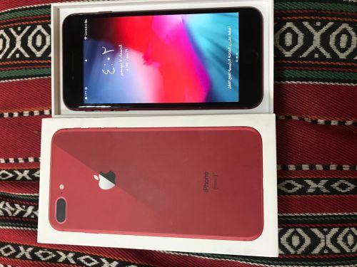 ايفون 8 بلص لونه احمر للبيع