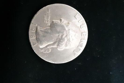 Old liberty Usa coin