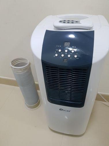 Portable 1 ton compressor AC