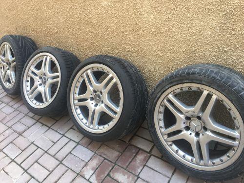 Mercedes tyre rims 19