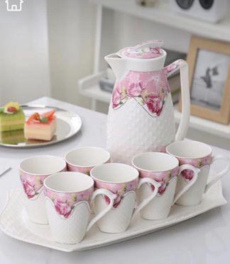 طقم كاسات شاي