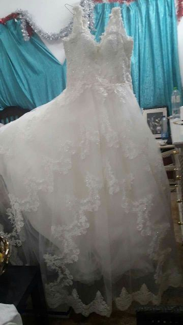 فستان زفاف تركي فخم