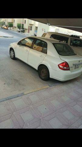 سيارة نيسان تيدا للبيع
