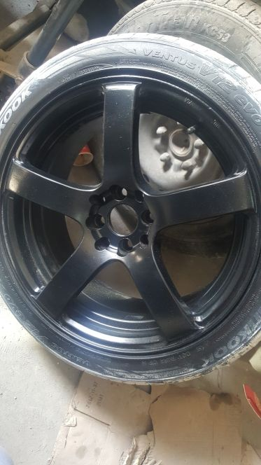 """Rims with tyres 17"""""""