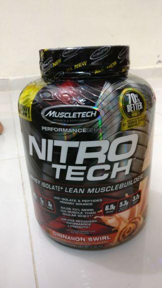nitro tech protein نترو تك
