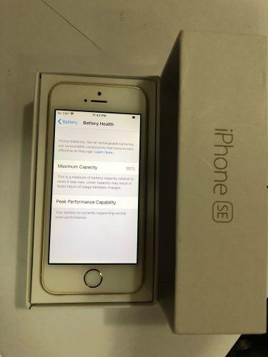 iPhone SE 64 Gold