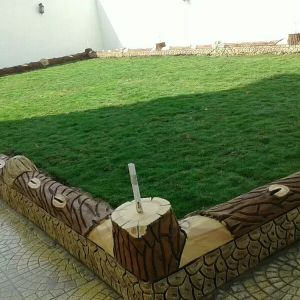 العشب الطبيعي لزراعة الحدائق